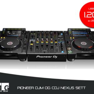 pioneer2000nexus sett